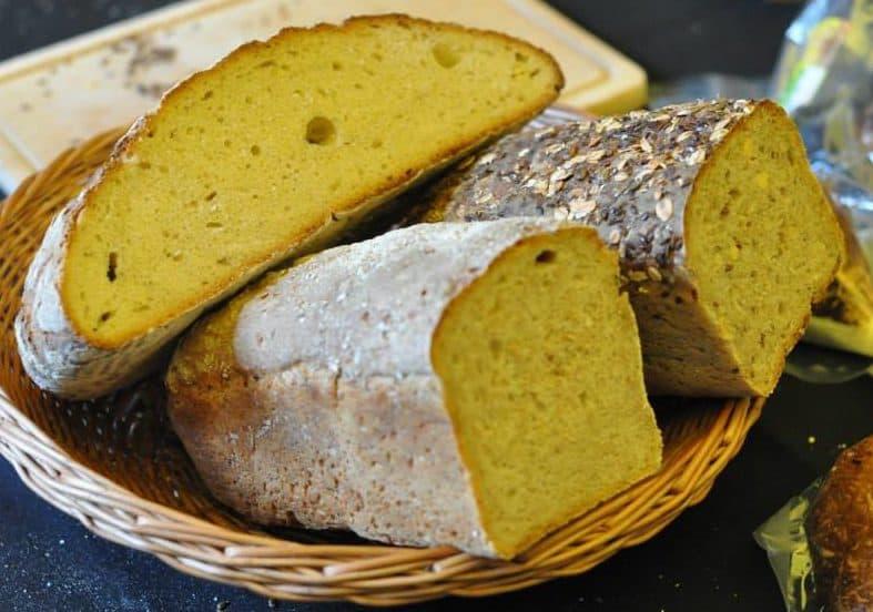 Chleb z pelnoziarnistej maki pszennej
