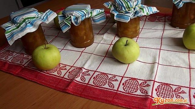 Korzenny dżem z jabłek i cukinii z nutką cytrusową