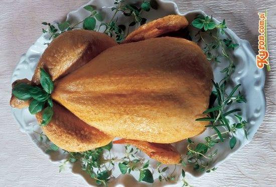Kurczak pieczony z ziołami