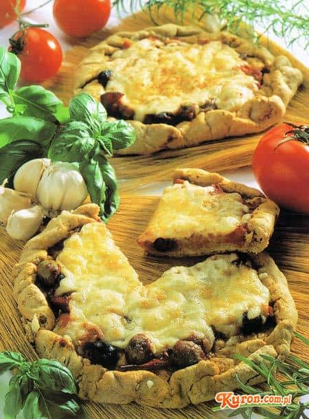 Pizza chlebowa po neapolitańsku