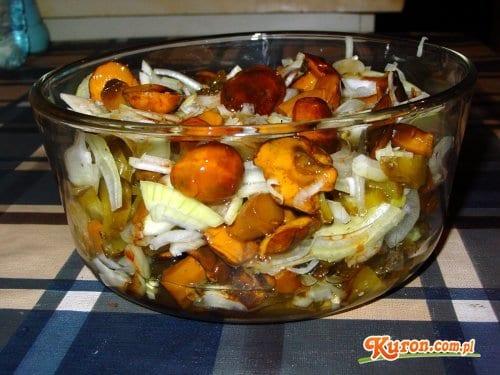 Sałatka grzybowo-ogórkowa