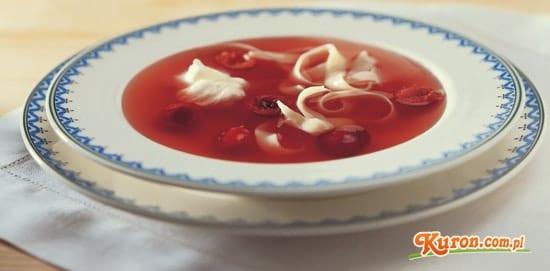 Zupa wiśniowa – na zimno