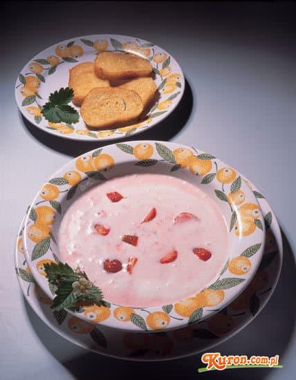Zupa z truskawek