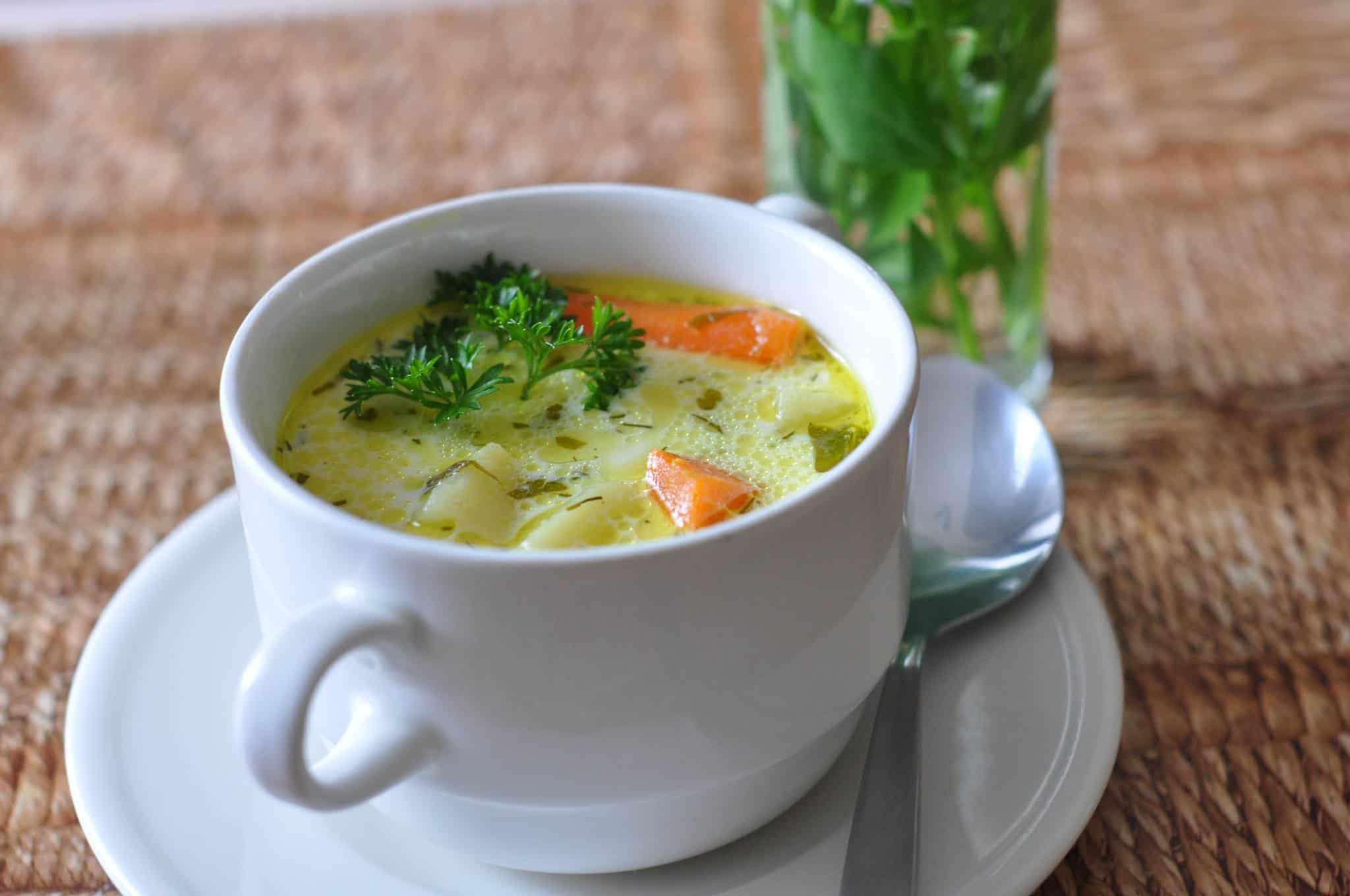 Klasyczna zupa koperkowa