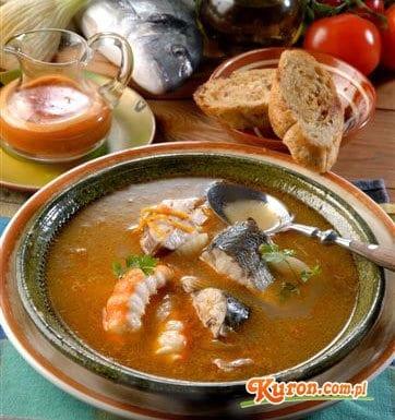 Zupa bouillabaisse