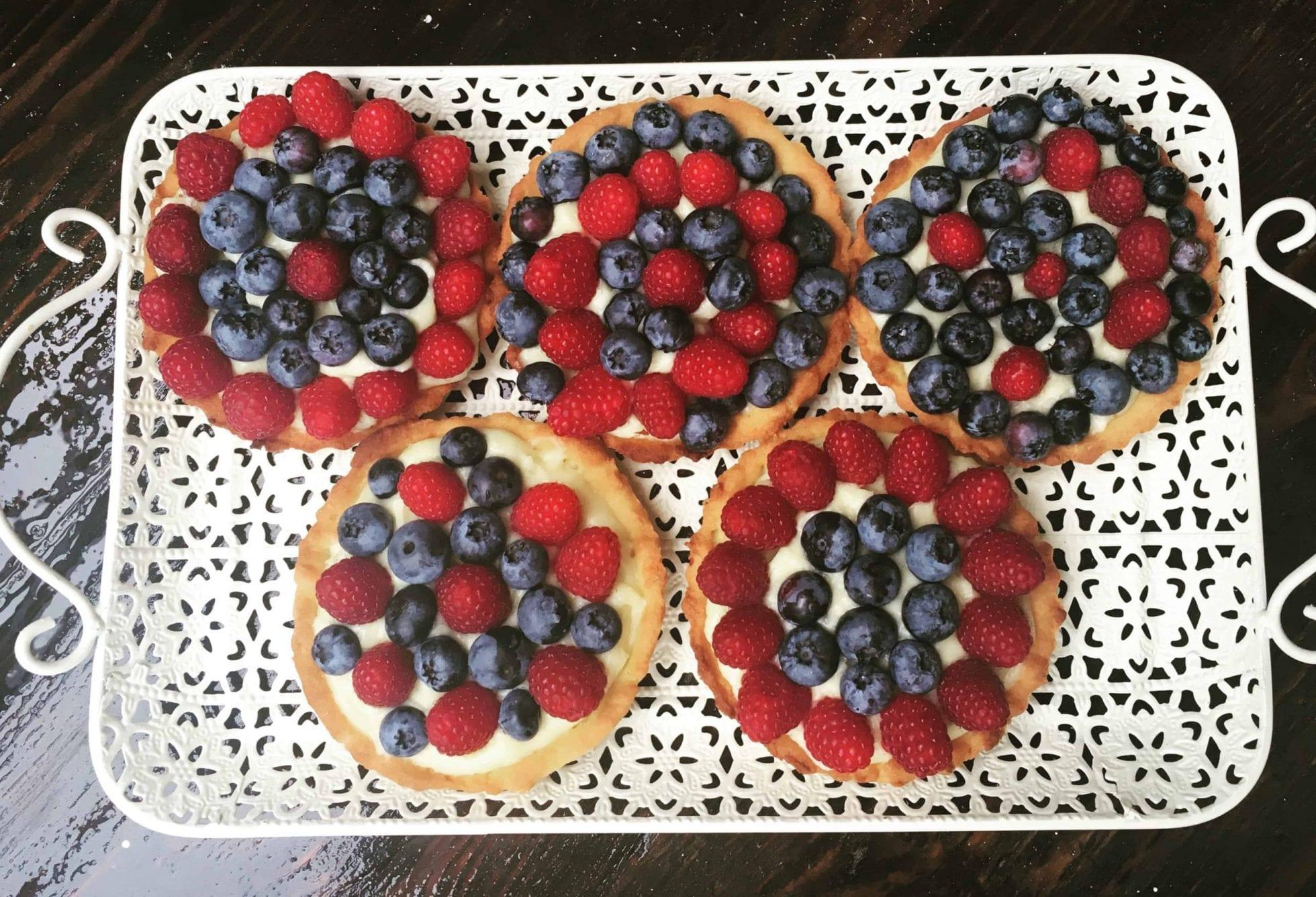 Mini tarty z owocami