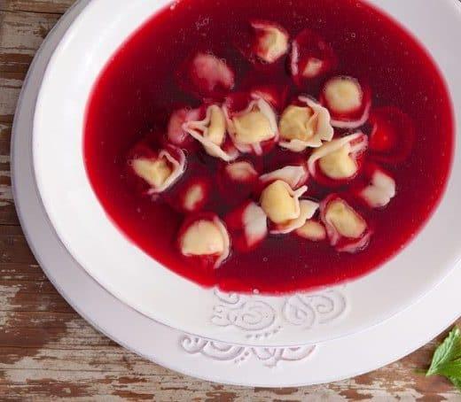 Tradycyjny barszcz czerwony