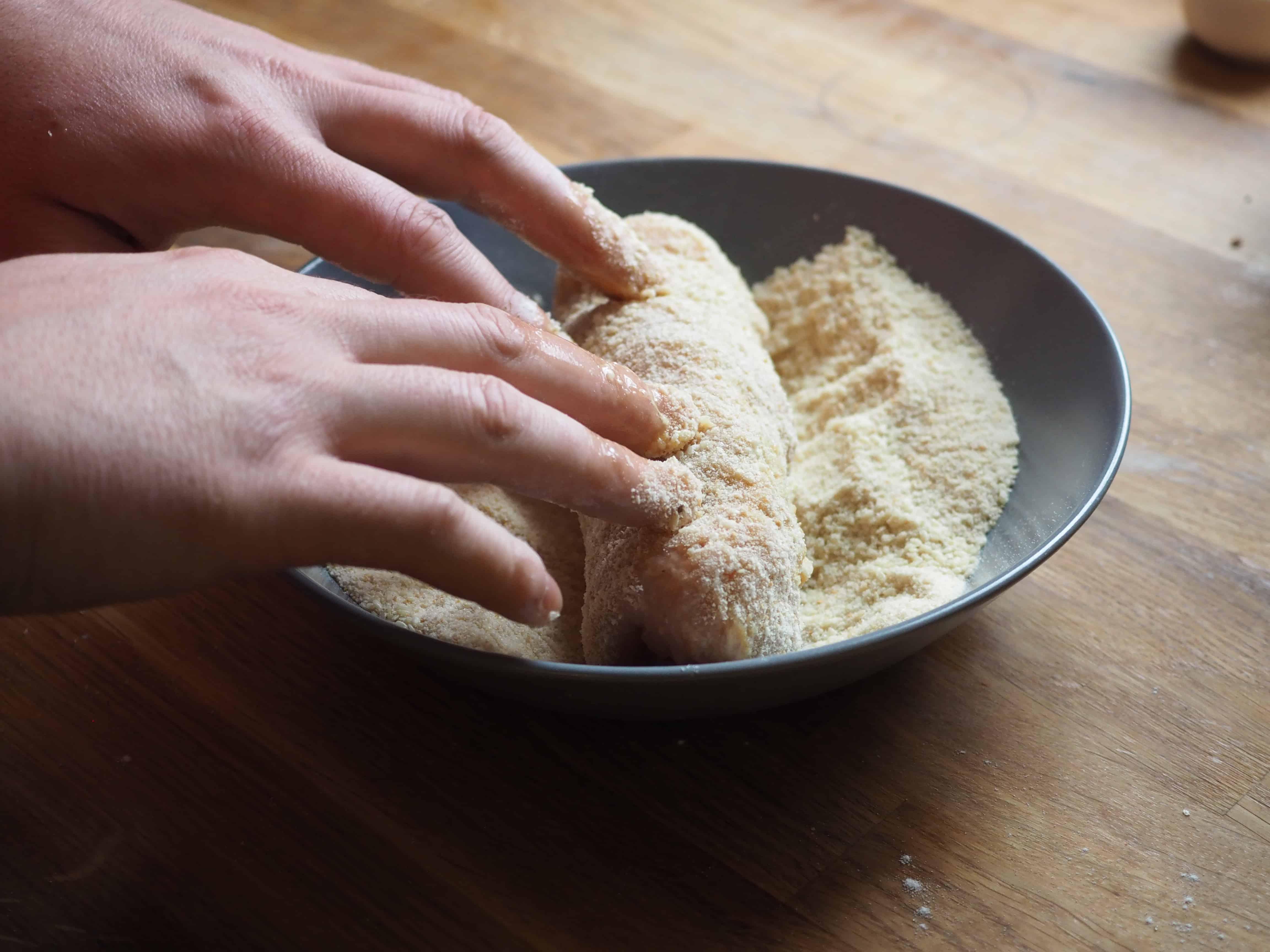 Pierś faszerowana mozzarellą