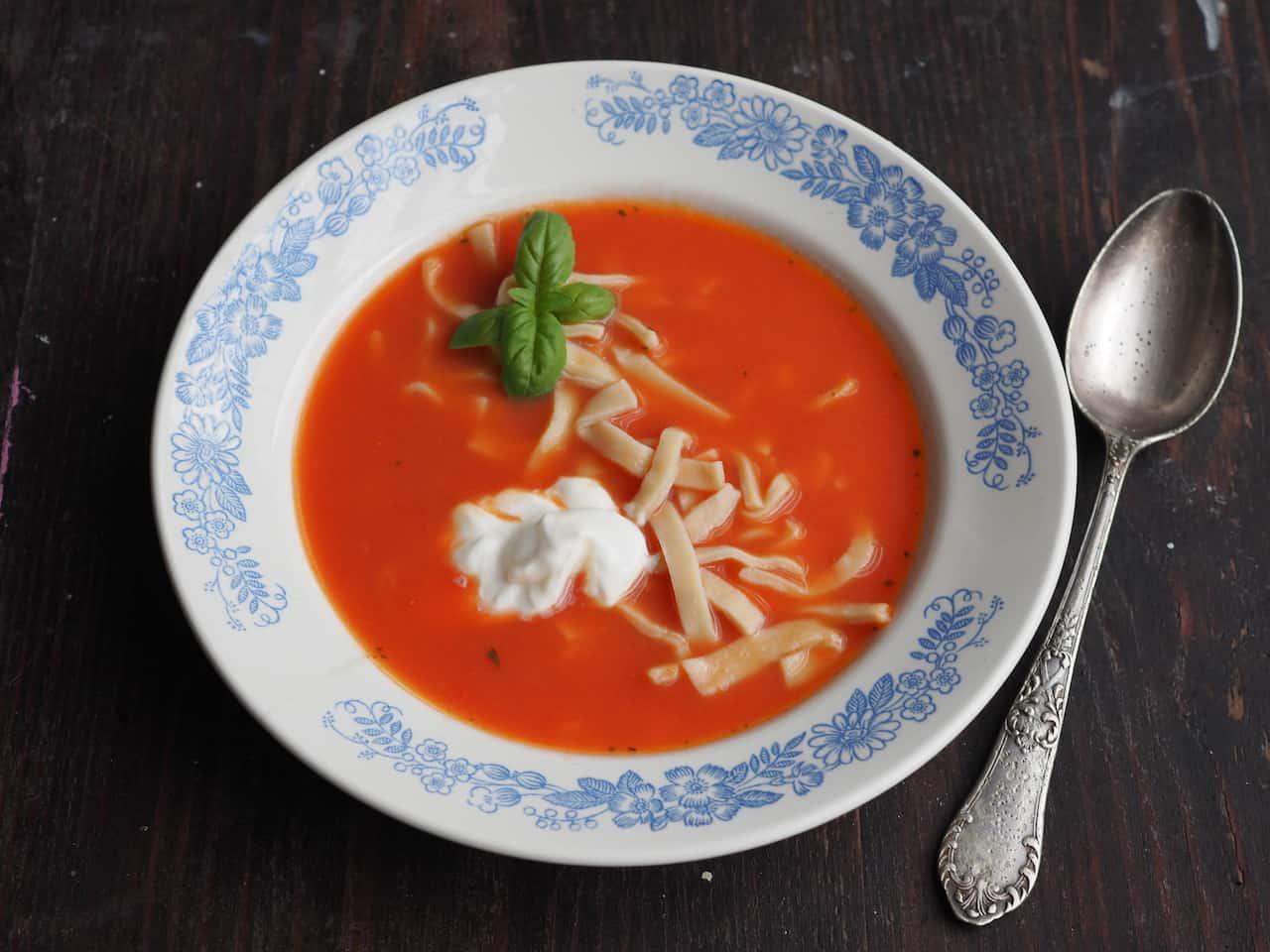 Idealna zupa pomidorowa
