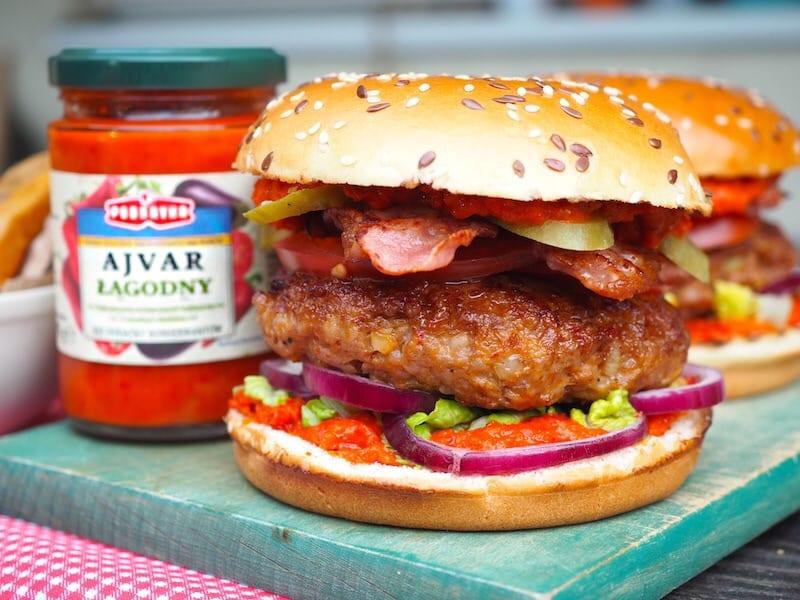 Hamburger wieprzowy