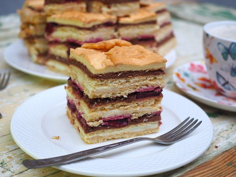 Ciasto przekładane