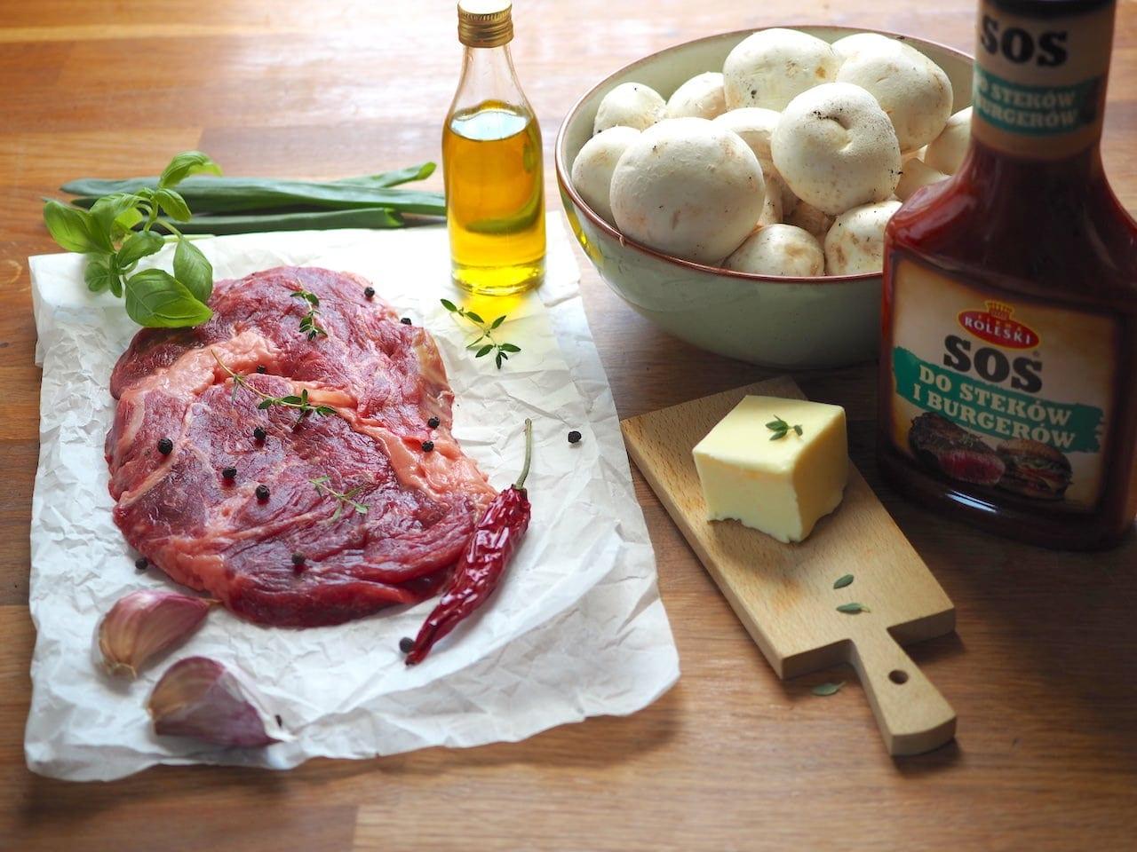 Stek wołowy z antrykotu