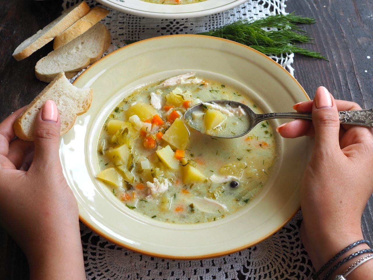 Idealna zupa ogórkowa