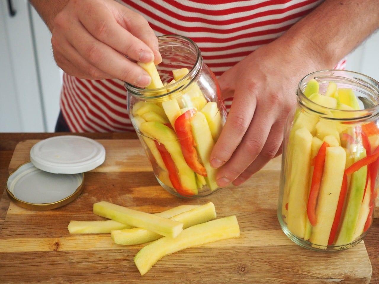Warzywa do słoików