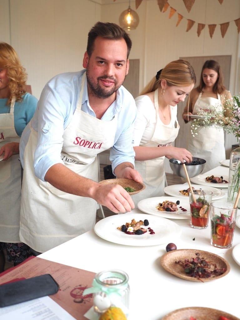 warsztaty kulinarne Jakuba Kuronia