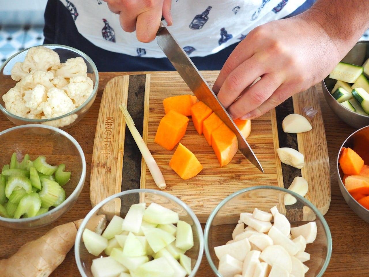 Curry z jesiennych warzyw