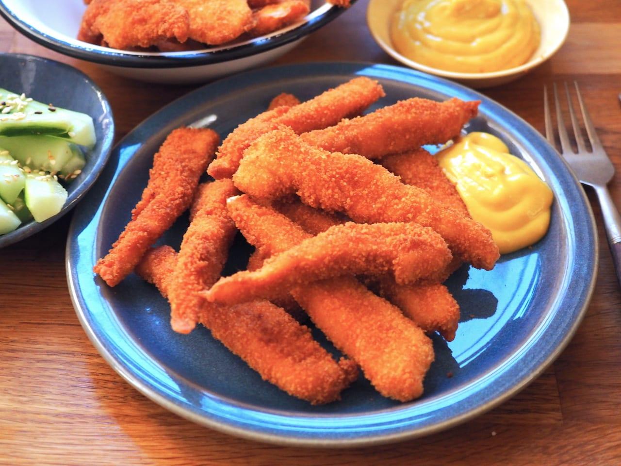 Frytki z kurczaka