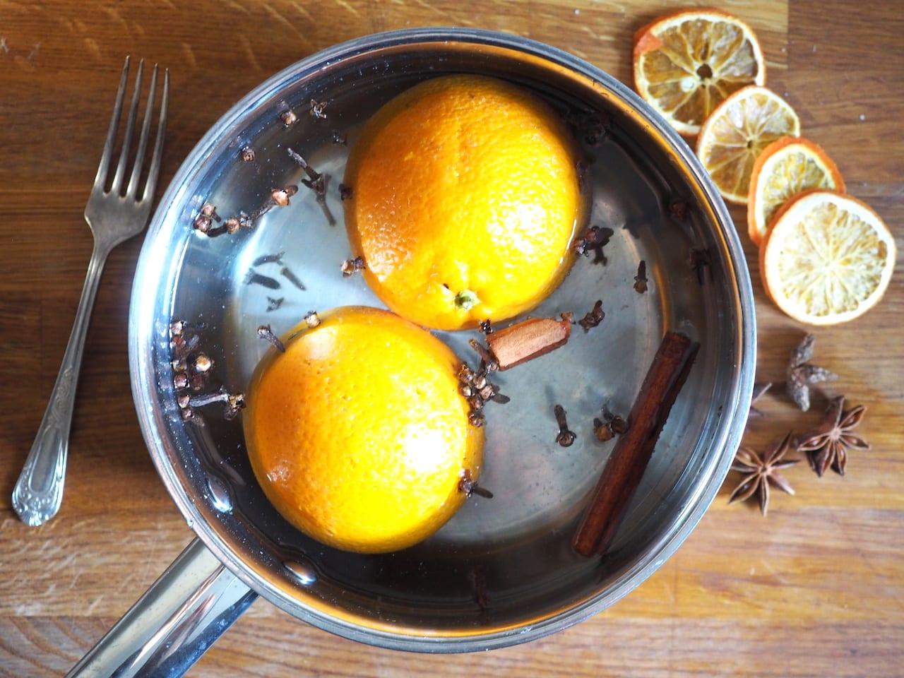 Gotowane pomarańcze do ciasta