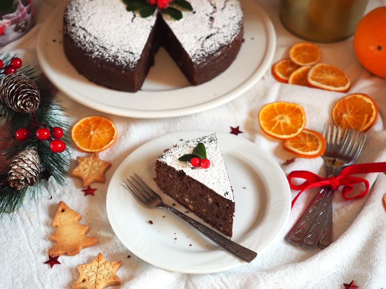Pomarańczowe ciasto bezglutenowe