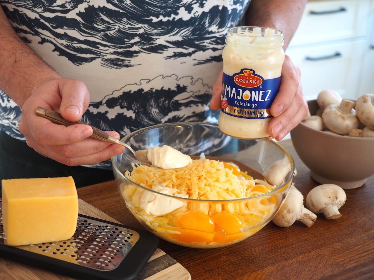 Rolada serowa przygotowanie