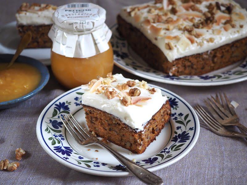 Ciasto dyniowo- marchewkowe