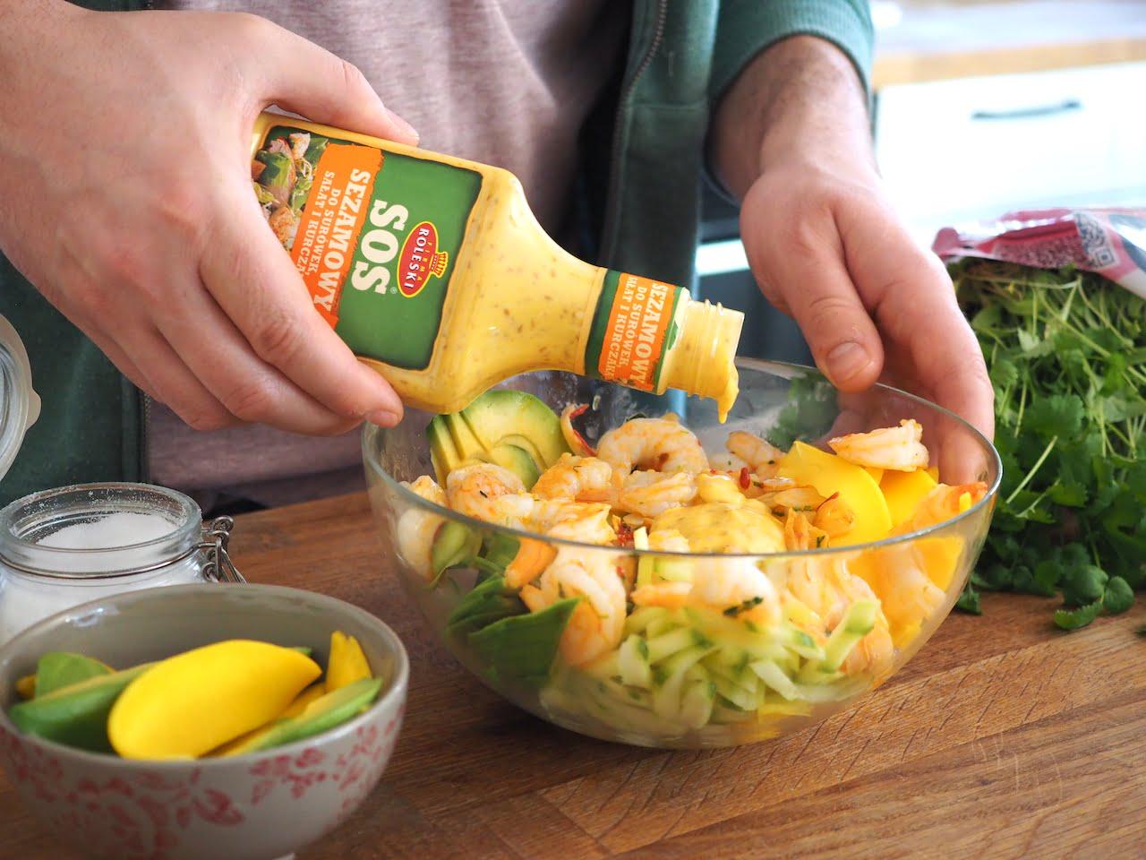sos sezamowy Roleski