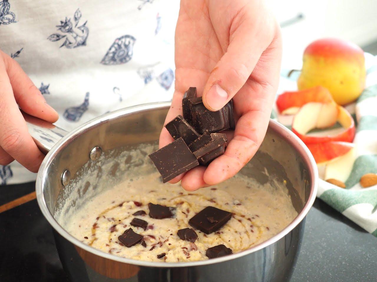 Jaglanka z czekoladą
