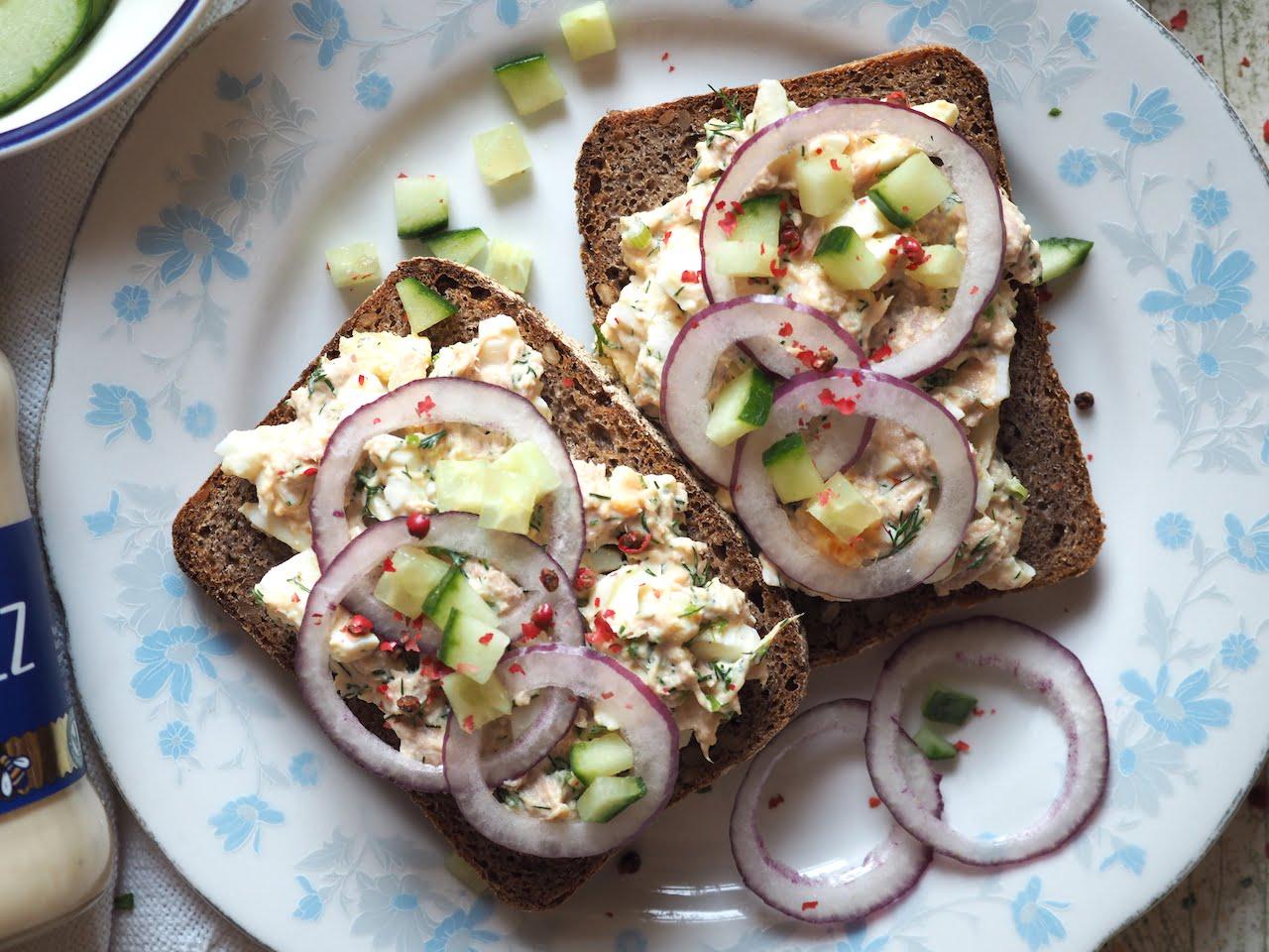 Kanapka z tuńczykiem