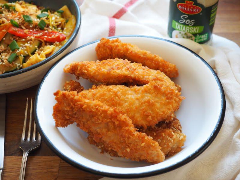 Chrupiąca pierś z kurczaka w panko