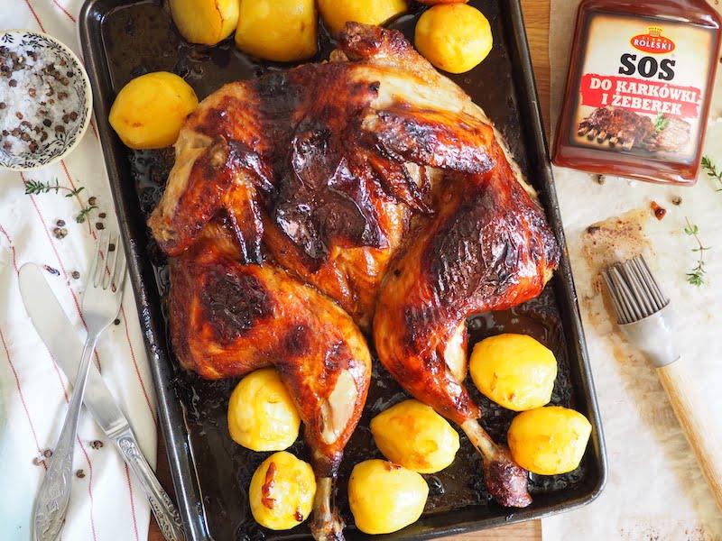 Kurczak pieczony bbq