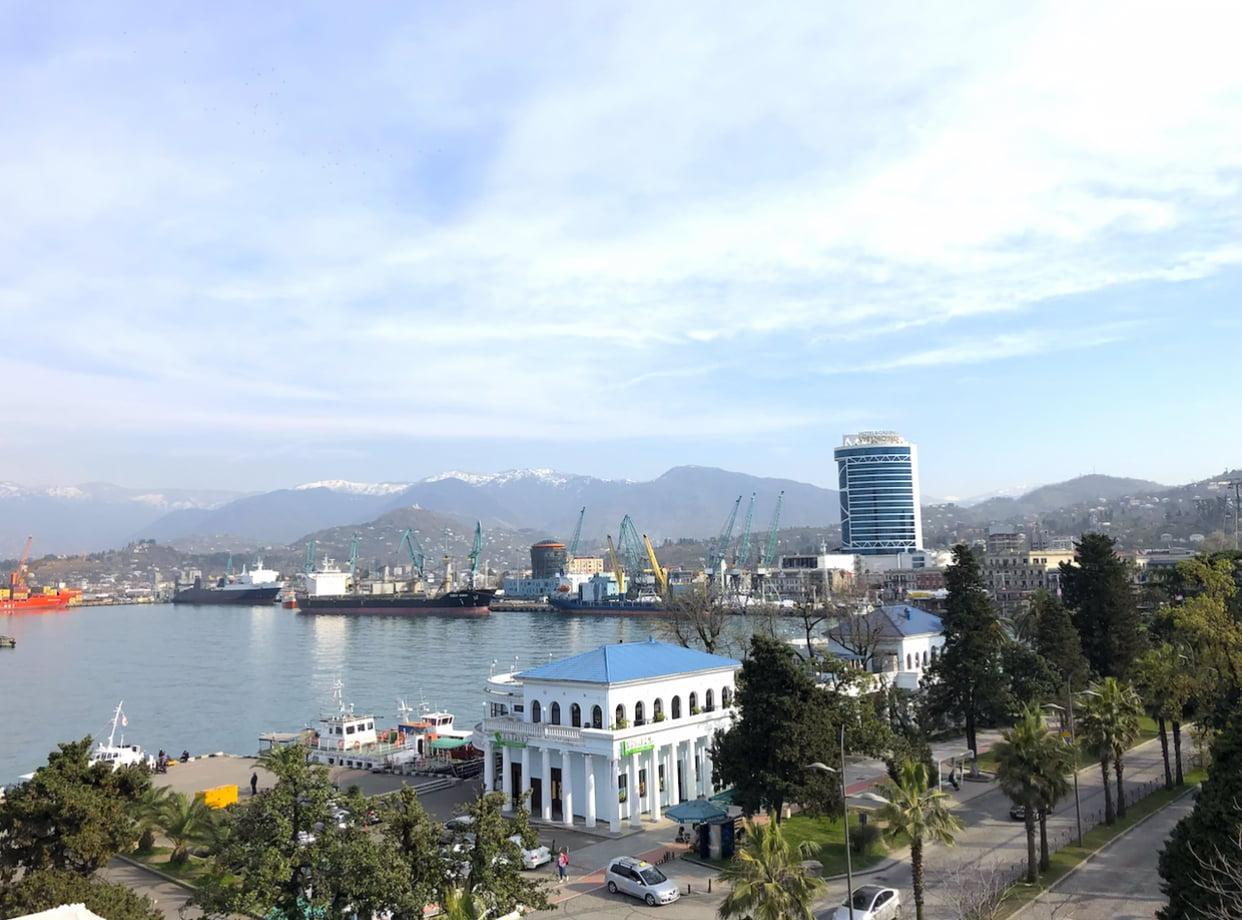 Batumi port