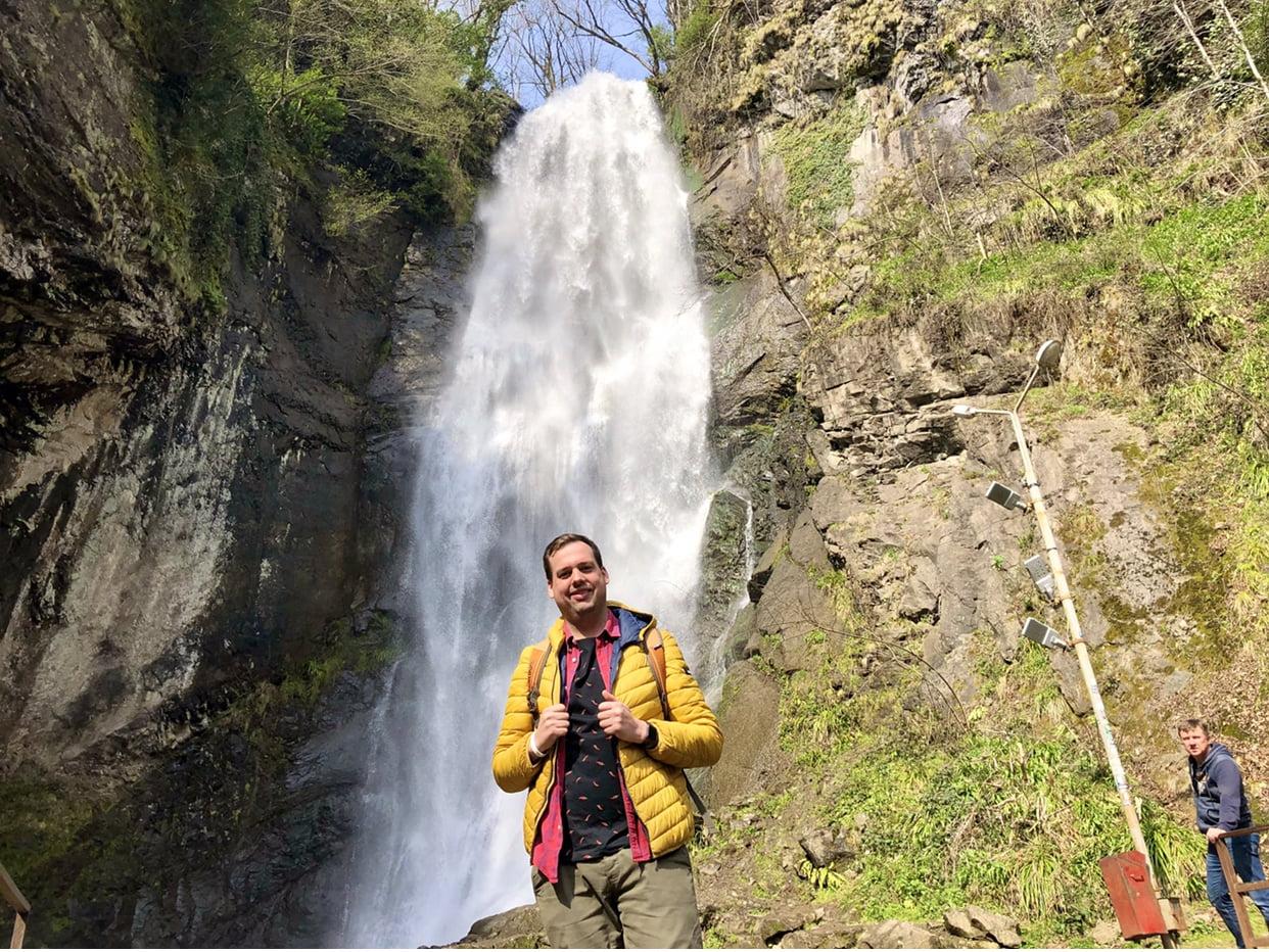 wodospad Mekhunseti