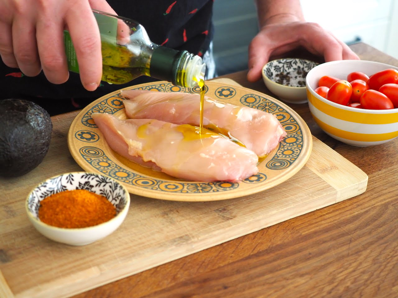jak grillować kurczaka