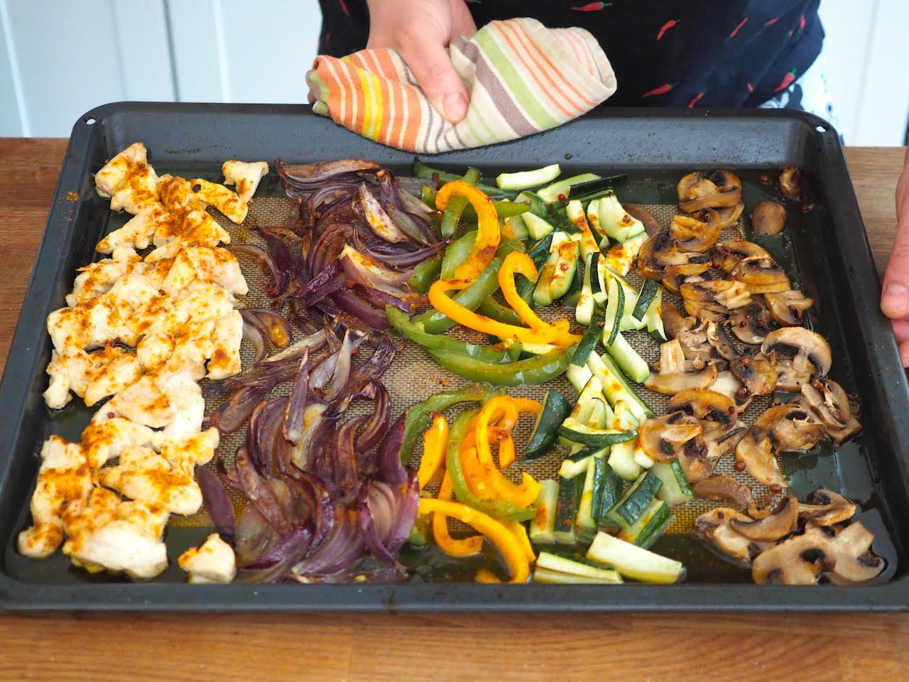 warzywa do tortilli