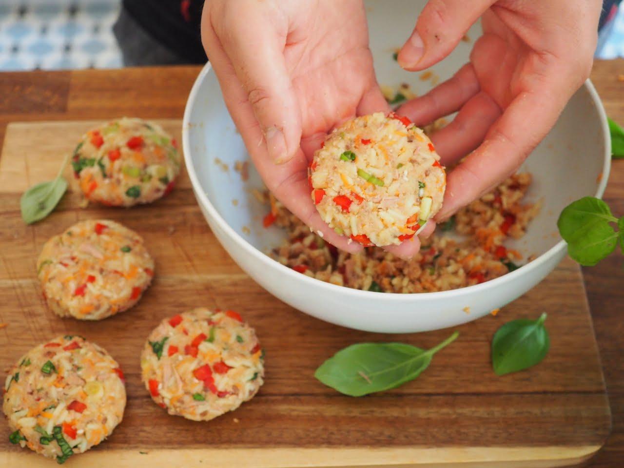 jak zrobić kotleciki warzywne