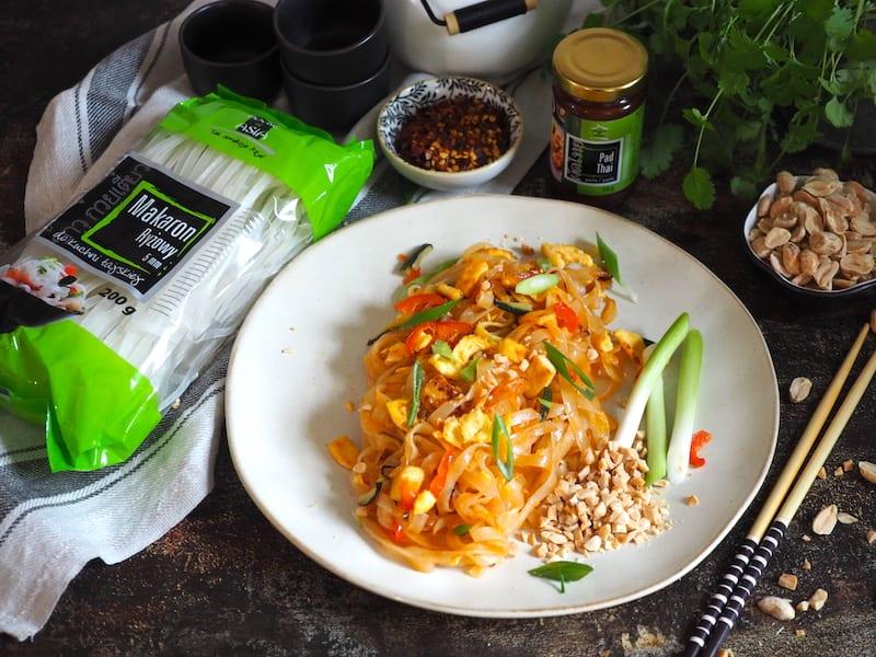 Pad Thai z tofu i jajkiem