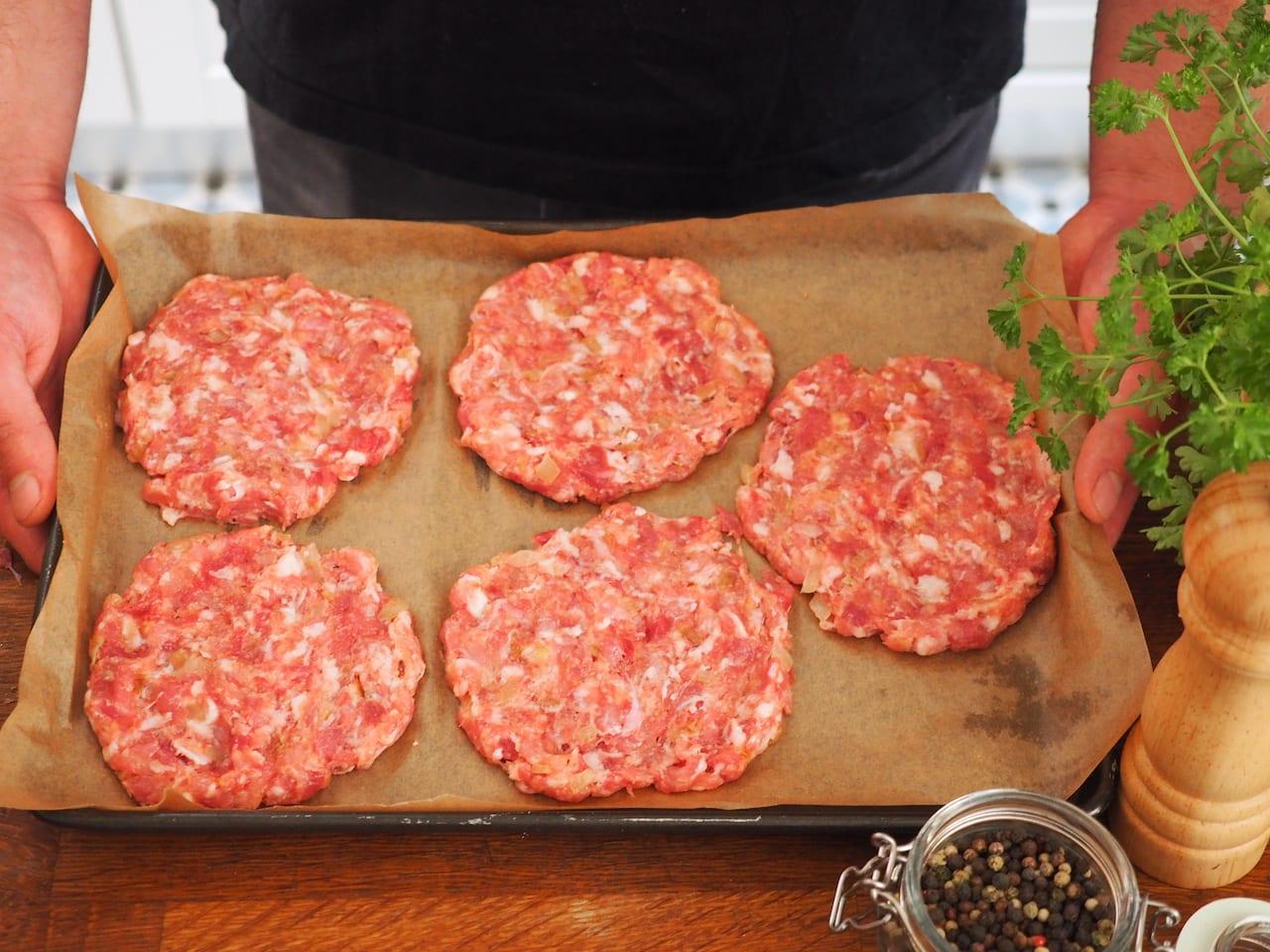mięso na hamburgery wieprzowe