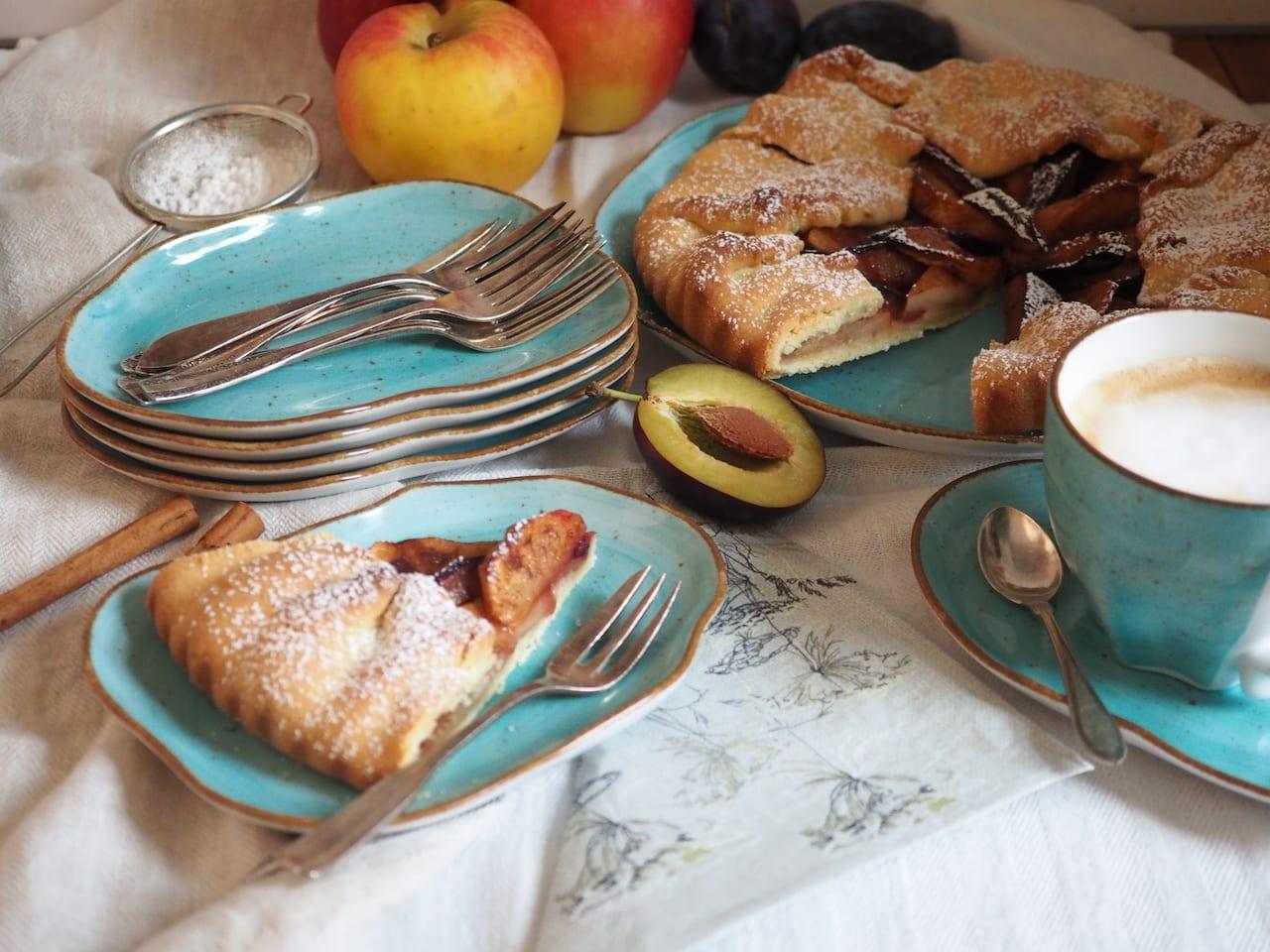 Tarta z jesiennych owoców