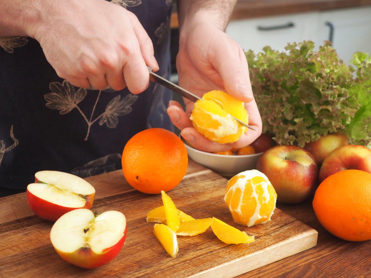 sałatka z owoców