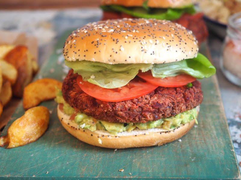 Vege burgery z musztardą