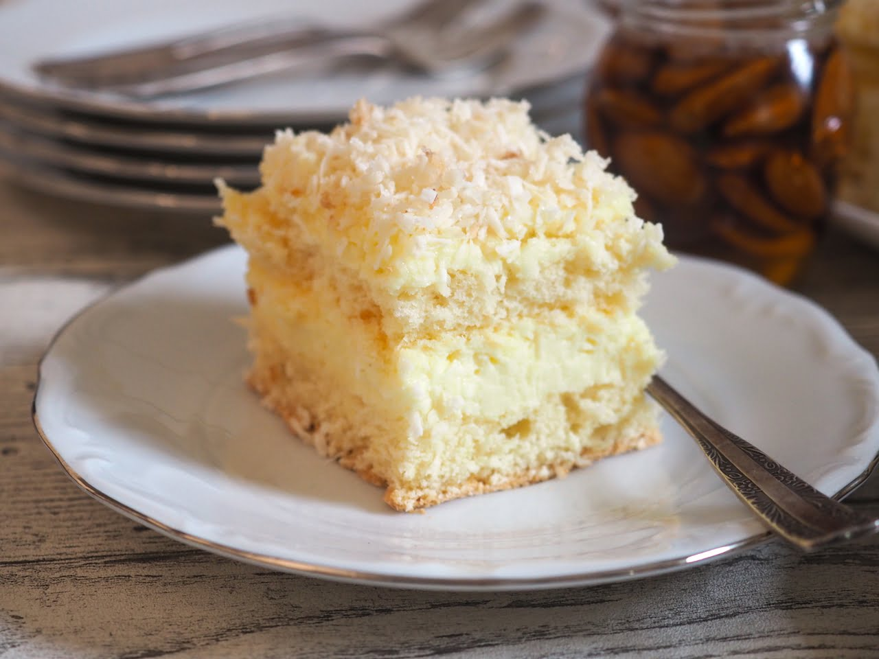 Ciasto kokosowe - Rafaello