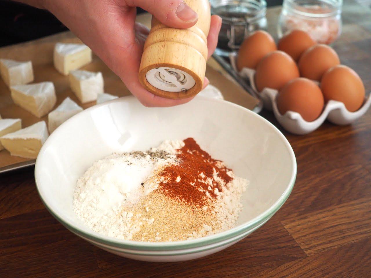 jak panierować ser